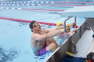 Jesper Andersson från Deje i Värmland var med på träningslägret i slutet på juni.