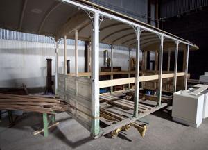 Spårvägssällskapet hoppas få tillräckligt med pengar för att kunna rusta de gamla Gävlevagnarna.