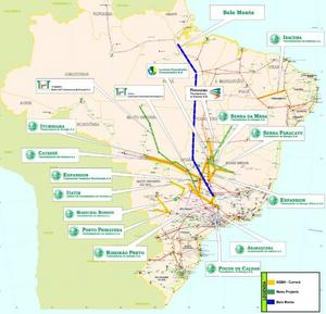 Kinesiska statens State Grid Brazil Holdings växande Brasilienkarta, de köper marknaden.
