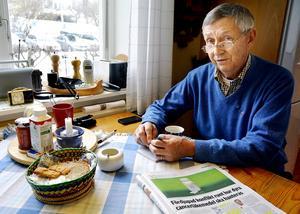 Sture Henningsohn, ordförande i Träpatronerna, Prostatacancerförbundets lokalförening i Västernorrland, tycker även han att man borde införa screening för prostatacancer.