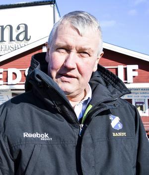 Stefan Karlsson är sportchef i Edsbyns IF.