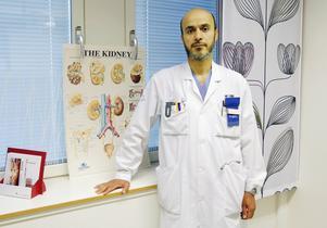 – En njure är den bästa gåva man kan ge, man kan göra någon annan frisk, säger Dana Mahmood, överläkare i njurmedicin vid Östersunds sjukhus.
