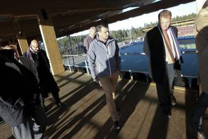 Jämfört med andra liknande projekt anser Daniel Kindberg, till vänster, att kommunen fått ut mycket för pengarna.