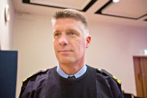 Spaningsledare Johan Bast.