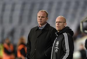 MALMÖ 2016-04-11 Tränarduo Roger Franzén och Joel Cedergrens kontrakt med GIF Sundsvall går ut om fyra månader.