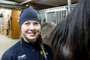 Isabell Eriksson om praktiken:   – Det var häftigt. En upplevelse man aldrig kommer att glömma, säger Isabell.