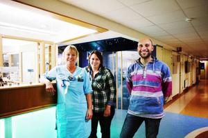 Här är teamet som genomfört studien vid Östersunds sjukhus. Lena Gimbring, Annica Gunnarsson och Federico Nasta.