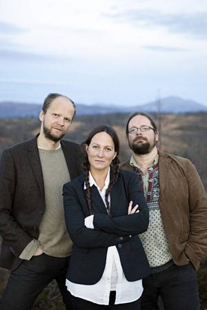 Janne Strömstedt, Emma Härdelin och Kjell-Erik Eriksson har spelat tillsammans i 18 år.Foto: Karin Alfredsson