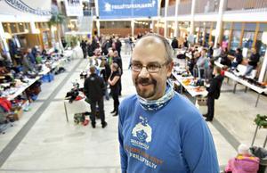 – Vi vill bidra till friluftsliv för alla, året runt, sa arrangören Tobias Rosén på Friluftsfrämjandet.