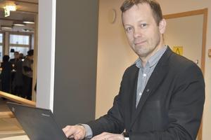 Magnus Haglund. Kommundirektör Örnsköldsvik Fotograf: Ulf Häggqvist