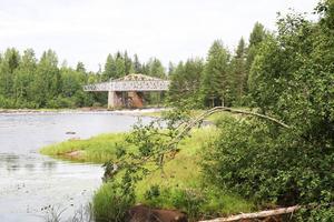 Broarna över Edängeforsen har sedan länge varit en viktig knutpunkt.