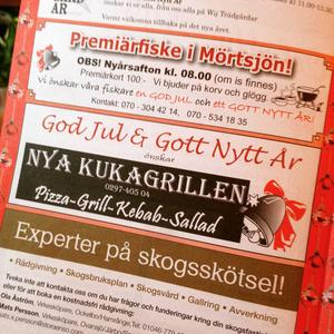 Nya Kuxagrillen önskar god jul och gott nytt år.
