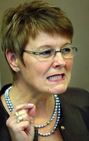 Maud Olofsson får godkänt.