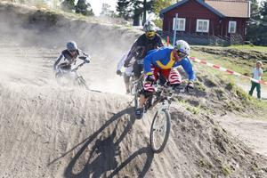 Utförsåkande cyklister vill köra i Hemlingbybacken och den kommer att öppnas i sommar. Här en bild från en tävling år 2009.