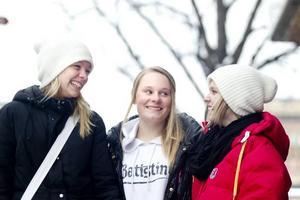 Normalt kalla någon hora. Anna Wennberg, Celina Jansson och Moa Domandersen kan inte komma på något enskilt ord som är klart över gränsen. Allt beror på vem som säger det till vem och i vilken situation.