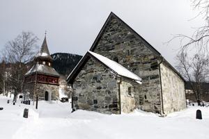 I Åre gamla kyrka händer det mycket under julhelgen.