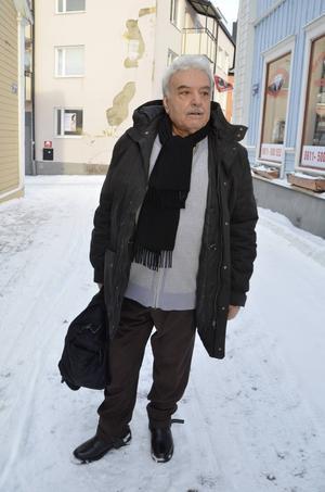 David Kalotti har funnit sig tillrätta i Härnösand.
