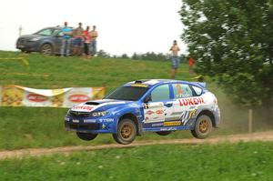 Patrik Flodin körde fort men det räckte inte till mer än en tredjeplats.