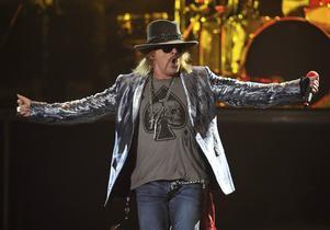 Guns N' Roses sångare Axl Rose.