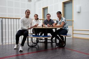 Patrik Yåösif, Felix Östlund, Arve Bergström och Max Granström driver tillsammans UF-företaget