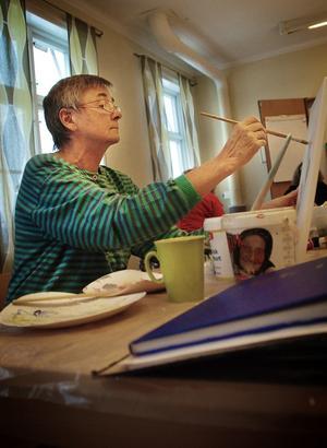 Ann-Marie Nyberg har återupptagit vedic art efter ett par års uppehåll.