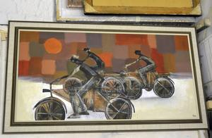 Cyklister av Fredrik Wimmercranz.