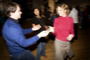 Får vi lov. Pär Olsson, Millie Leon och Åsa Lindgren är initiativtagarna till Gefle latindansfestival som drar igång i nästa vecka.