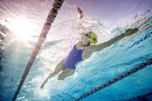 Sarah Sjöström är det stora svenska medaljhoppet i OS i Rio. Arkivbild.   Foto: Jessica Gow/TT