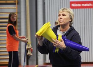 Formpressade hörselskydd är det som idrottsläraren Kerstin Eriksson på Norrtullskolan önskar sig allra mest.