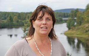Sanna N Barkar bor i dag vid Färjbackens gamla skola och har utsikt över älvmötet. FOTO: PER EKLUND