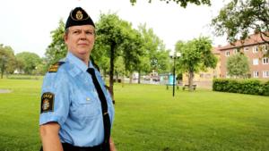 Eva Lindberg, närpolischef i Fagersta.
