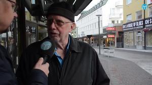 Jan-Erik Rosén anser att Borlänge blivit lugnare på senare tid.