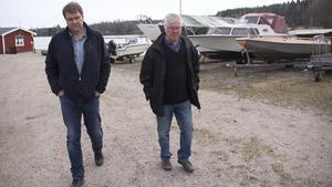 Förutom stölderna bröts även ett båtförråd upp efter inbrottet på Västanfors båtklubb på måndagsmorgonen.