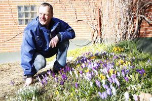 Sten Wadensjö, Östersund, är ordförande för Trädgårdsföreningen i länet. Självklart lägger han ned många timmar i den egna trädgården också.