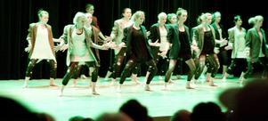 Somliga dansnummer under Dansotekets avslutningsshow höll riktigt hög klass.