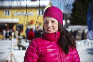 Ami Palm från Norderåsen norr om Östersund kom på andra plats i årets Beaver Trap Trail på 160 kilometer med tiden 8:33:21.