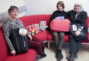 Talpedagogen Birgitta Igelström, folkhälsoplaneraren Carolina Andersson och pensionerade tal- och specialpedagogen är nu inne på tredje året med Språkgiva.