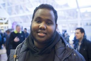 – Jag vill jobba med människor, säger Rague Yussuf.