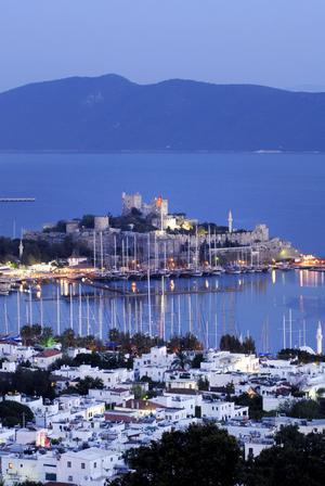 Turkiska Bodrum går under namnet Turkiets Saint Tropez. Foto: Sumul/IstockPhoto