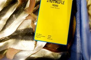 Strömming och torsk från Östersjön. Men frågan är vilken del.