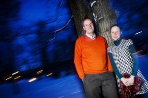 Andreas Hoffmann och Flavia Devonas driver Härjedalens kulturcentrum.