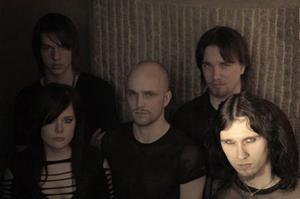 Östersundsbandet Myrah kommer även att spela en helt nyskriven låt i morgon.   Foto: Pressbild