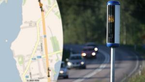 Först på tur med nya fartkameror i Dalarna blir Grangärde.Foto: (högra bilden) Fredrik Sandberg / TT