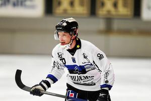Kalle Mårtensson har letat formen i sin nya klubb efter flytten från Hammarby. Kanske hittade han den i den 88:e minuten hemma mot Bollnäs.