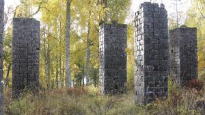 Stenpelarna vid Trummelsberg.