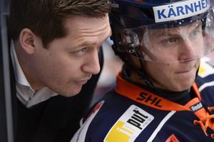 David Åslin har haft tränaren Sam Hallams förtroende i år. Nu vill han vinna guld med sitt Växjö.