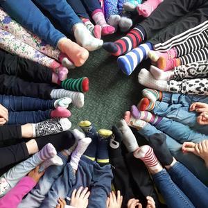 Vi har fått in den här bilden från avdelningen Blixten på förskolan Regnbågen i Hedemora med följande text: