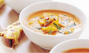 Både stil och sting på soppan.