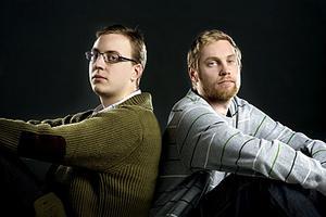 Populär duo. David ?Sulo? Paulsson och Tommy ?Cosmic? Isacsson är duon bakom den populära klubben Solid på Pluto.