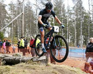 MTB-cyklisten Emil Lindgren tillhör också skaran av Sätermästare.